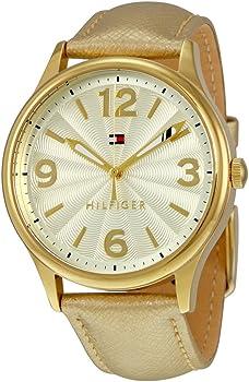 Tommy Hilfiger 38mm Metallic Gold Women's Watch