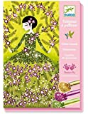 Djeco Dresses Glitter Board Craft Kit