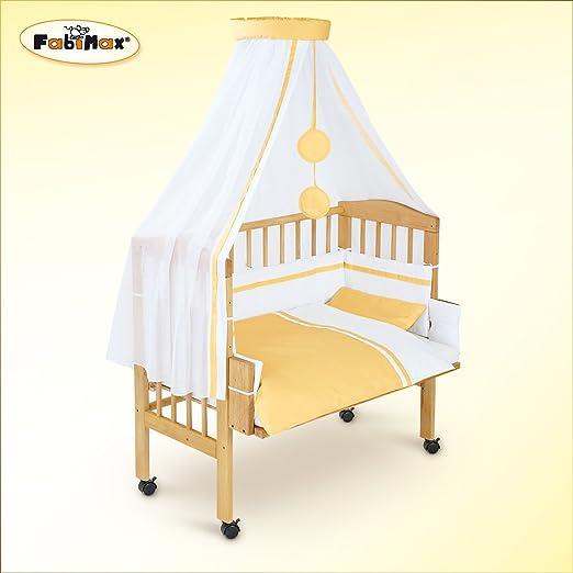fabimax lit cododo classic avec avec quipement hanna blanc int gral matelas protect b b s. Black Bedroom Furniture Sets. Home Design Ideas