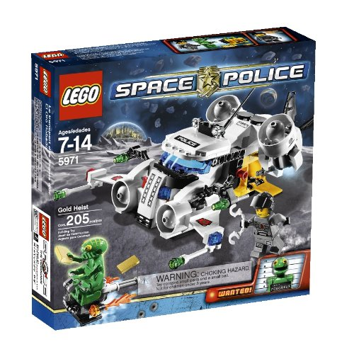 Lego Space Police Gold Heist (5971) back-900287