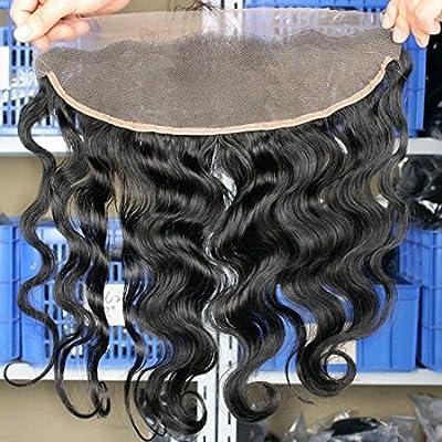Eayon Hair® 6a Brazilian Virgin Hair Body Wave Lace Frontal Closure 13*4 Bleach Knots with Baby Hair