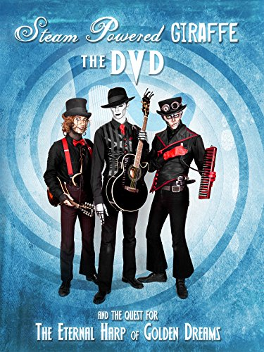 Steam Powered Giraffe: The Quest for The Eternal Harp of Golden Dreams on Amazon Prime Instant Video UK