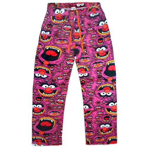 The Muppets Animal Official Gift Mens Lounge Pants Pajama Bottoms Xl
