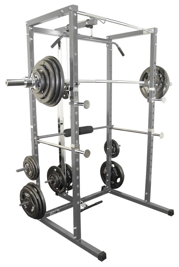 Valor Athletics BD-7 Power Rack Lat Pull