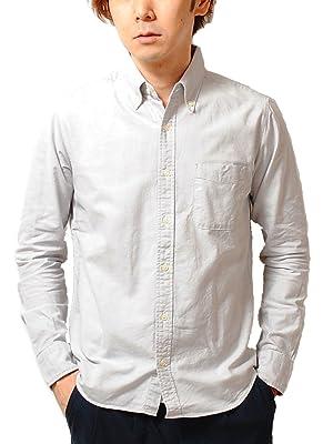 ciao (チャオ) 日本製 オックスフォード ボタンダウン シャツ