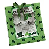 DII 100% Cotton, Machine Washable, Everyday Kitchen Basic Printed Dishtowel with Shamrock Shaped Cookie Cutter, 18 by 28-Inch, St Patrick s Day