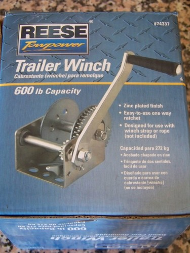 great features of reese towpower 74337 600 pound capacity winch winch reviews