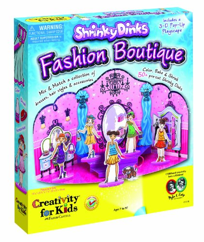 Creativity For Kids Shrinky Dinks Fashion Boutique front-519749
