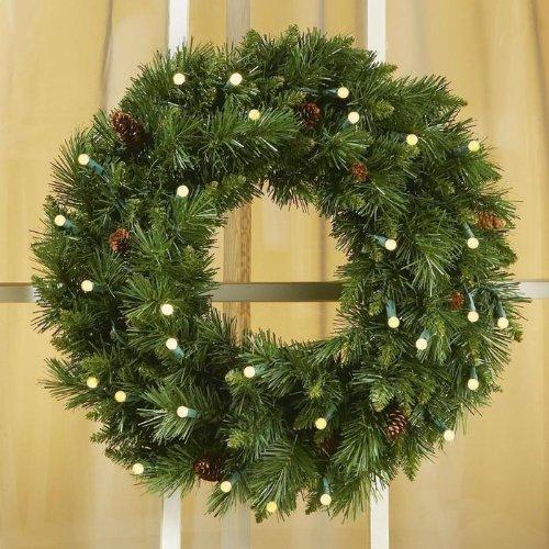 Christmasdecornow christmas outdoor decorations wreaths for Exterior christmas wreaths