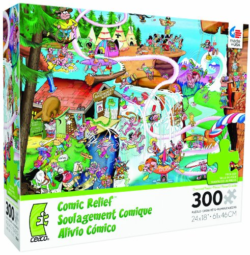 Comic Relief Rocky Mountain Jigsaw Puzzle