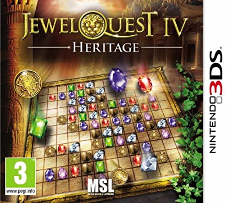 Jewel Quest IV - Heritage (Nintendo 3DS)