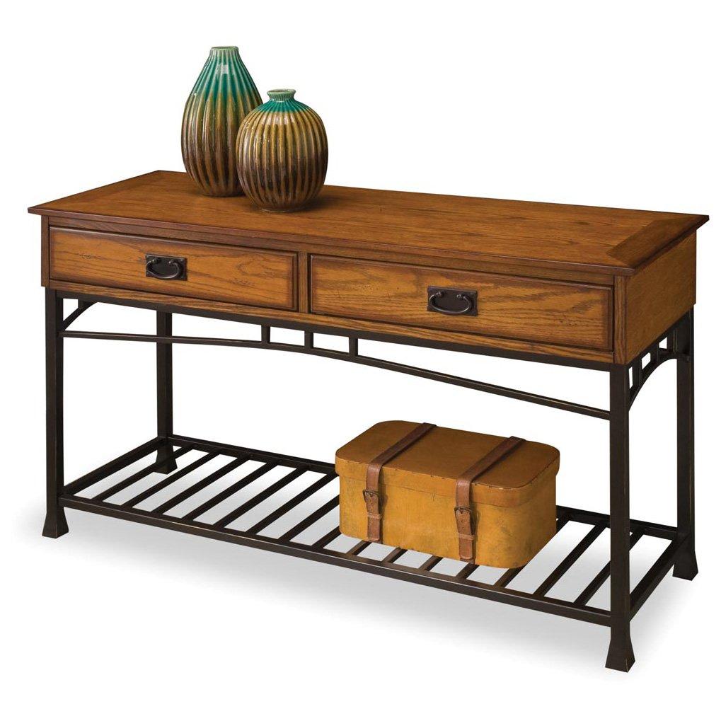 Rustic Oak Sofa Table Sofa Table Distressed Oak