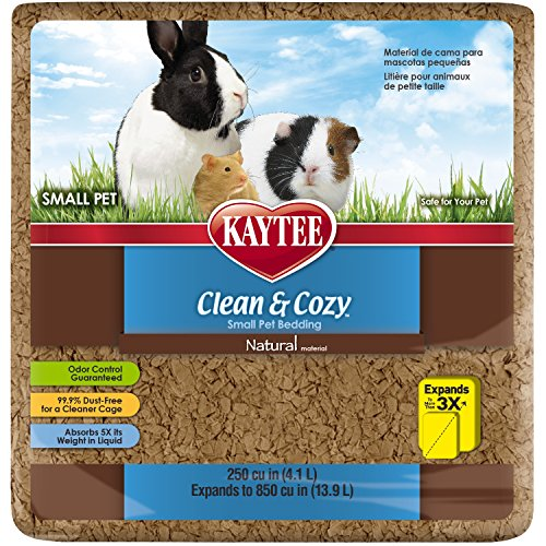 Kaytee Clean & Cozy Natural Bedding, 250 Cubic Inch 61Qwv 2BEuOkL