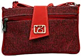 Zakina Women's Handbag (Red) (ZE102)