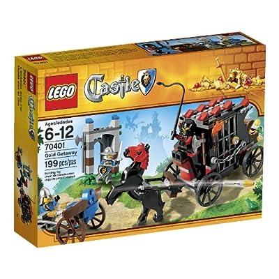 LEGO Castle Gold Getaway, 70401, 199 pcs by LEGO