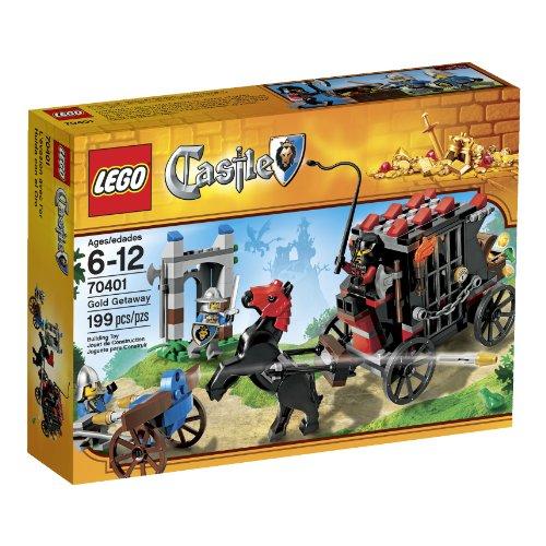 LEGO Castle Gold Getaway, 70401, 199 pcs - 1