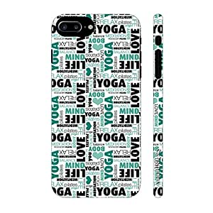 Enthopia Designer Hardshell Case Yoga Meditate Relax Back Cover for Apple Iphone 7 Plus