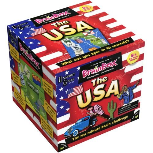 BrainBox for Kids - The USA Card Game - 1