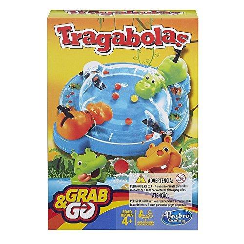 Hasbro Gaming - Juego de viaje Tragabolas (B1001175) (versión española/portuguesa)