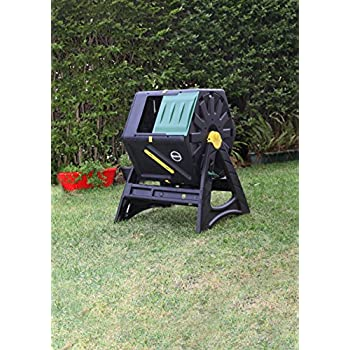 Miracle Gro Single Chamber Tumbling Composter, 105 L/27.7 gallon