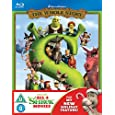 Shrek/Shrek 2/Shrek The Third/Shrek: Forever After - The Final... [Blu-ray]