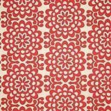 Amy Butler Lotus Wall Flower Cherry Fabric Yardage