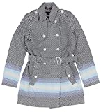 Tommy Hilfiger Women's Shaped Dot Trench Coat