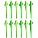 Funbase 12pcs/Set Creative Cute Cactus Gel Pens Office School Writing Supplies Stationery Accessories (Color: 12pcs)