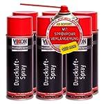 6 Dosen VIKON Druckluft-Spray / Druck...