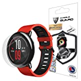 XIAOMI AMAZFIT SmartWatch Screen Protector (2 Units) Invisible Ultra HD Clear Film Anti Scratch Skin Guard - Smooth / Self-Healing / Bubble -Free By IPG (Color: Clear)