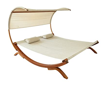 Leisure Season SNBC403 Sunbed with Canopy
