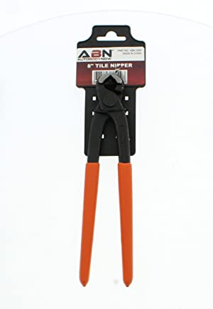 ABN Tile & Mosaic Nipper, Cutter Pliers with Carbide Trimming Tips (Tamaño: 10.4)