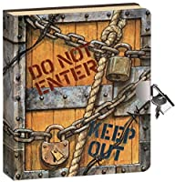 Peaceable Kingdom Keep Out Lock and K…
