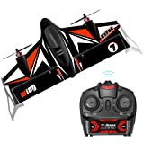 Fixed Wing Airplane ARRIS 500mm Wingspan Vertical FPV RC Plane EPP Fly Wing RC Drone RTF Version (Color: Black)
