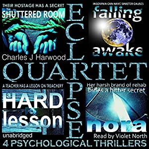 Eclipse Quartet: 4 Psychological Thrillers Audiobook