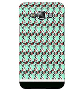 PrintDhaba Pattern D-1824 Back Case Cover for SAMSUNG GALAXY GRAND 3 (Multi-Coloured)