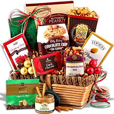 there are all kinds of different christmas gift baskets that you can choose from that are great for parents if you arent really sure what they would like