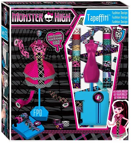 Monster High Fashion Design Tapeffiti
