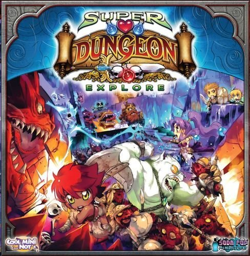 CoolMiniOrNot Super Dungeon Explore