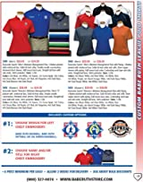 Anaconda Sports® Babe Ruth Custom Polo Shirt Options (Call 1-800-327-0074, ext 191 to order)