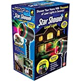 Star Shower Star Shower Outdoor Laser Christmas Lights, Star Projector by Bulbhead
