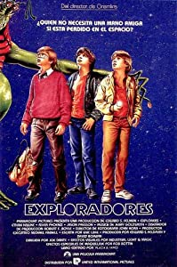 Explorers Movie Poster (27 x 40 Inches - 69cm x 102cm) (1985) Spanish -(Ethan Hawke)(River Phoenix)(Jason Presson)(Amanda Peterson)(Mary Kay Place)(Dick Miller)