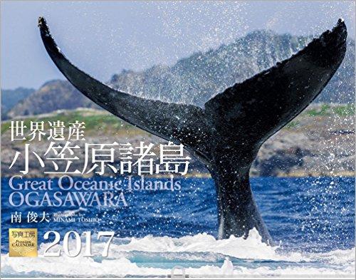 世界遺産 小笠原諸島 2017年 カレンダー 壁掛け A-4