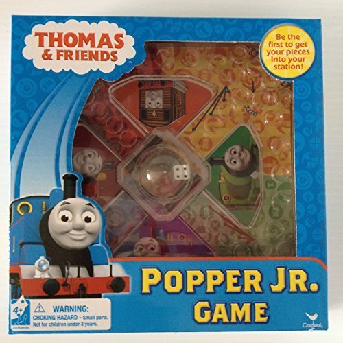 Thomas and Friends Popper Jr Game Thomas the Train Game Nick Jr Nickelodeon Trouble Kids Activities - 1