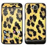 """atFoliX Designfolie """"Golden Jaguar"""" f�r Samsung Ativ S (GT-I8750) - ohne Displayschutzfolievon """"Designfolien@FoliX"""""""