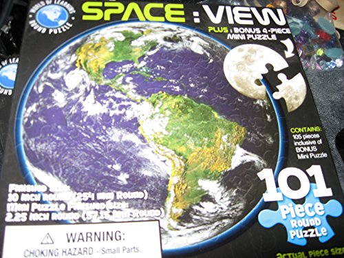 Space: View - 101 Piece Round Puzzle 10""