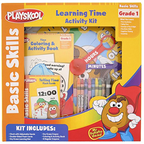 Playskool Learning Time Activity Kit with Mr. Potato Head - 1