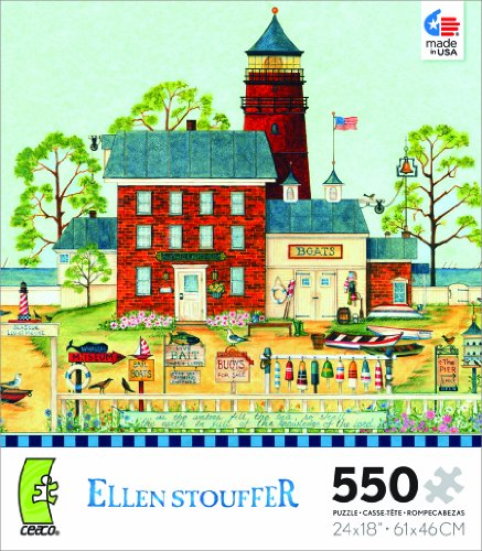Ellen Stouffer The Lighthouse Jigsaw Puzzle