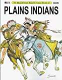 img - for An Educational Coloring Book of Plains Indians by Spizzirri Publishing Company (1981-06-03) book / textbook / text book