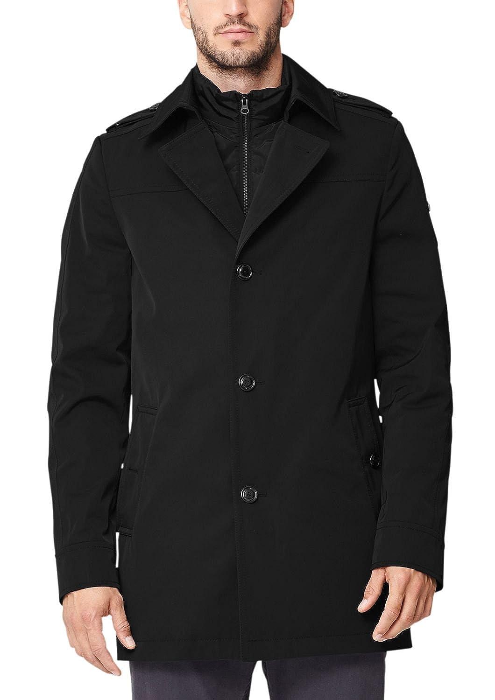 s.Oliver Premium Herren Mantel mit 2in1 Optik kaufen